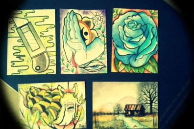 Some recent paintings I've been working on.