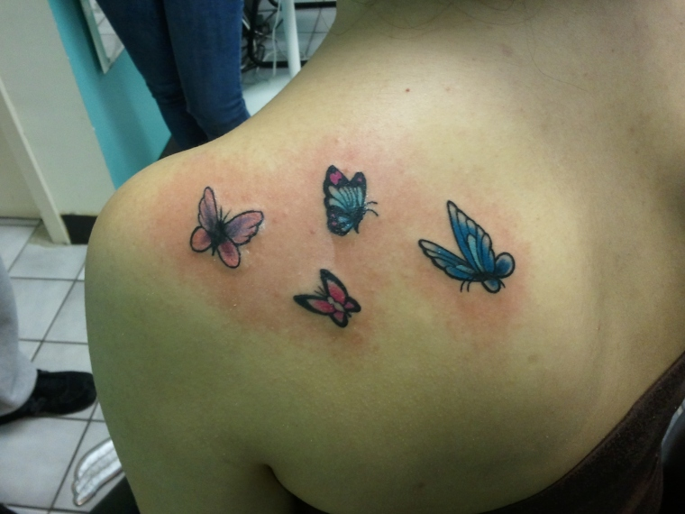 Butterflies I did forever ago..